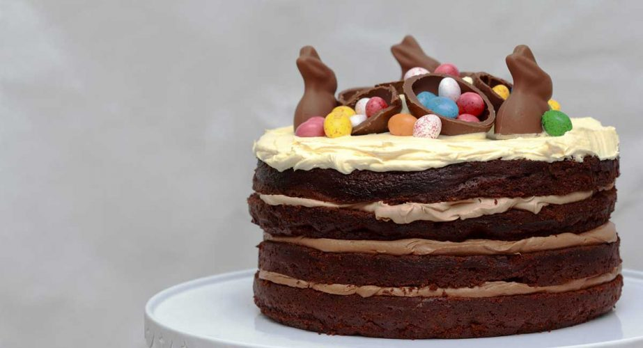 Extrêmement Triple-Choc Nutella Easter Cake - The Sisters Wine HC99